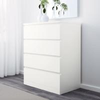 IKEA 宜家 MALM 马尔姆 抽屉柜 4屉柜 80*100cm