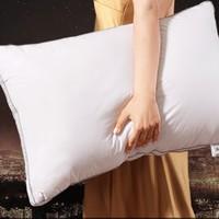 MERCURY 水星家纺 全棉抗菌枕头 低枕 48*74*14cm 一只装