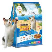 Friskies 喜跃 成猫猫粮 海鲜味 3.5kg *5件