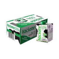 Laciate 兰雀 波兰进口 高温灭菌脱脂牛奶 0.5L*8盒 *5件