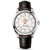 OMEGA 欧米茄 Seamaster 海马系列 Aqua Terra GMT 231.13.43.22.02.004 男士双区机械腕表