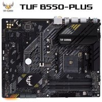 ASUS 华硕 TUF GAMING B550-PLUS主板 支持 CPU 3600X/3700X/3800X(AMD B550/socket AM4)