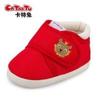 crtartu 卡特兔 婴儿防滑软底棉鞋
