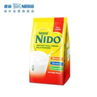 Nestlé 雀巢 全脂速溶高钙奶粉 900g *3件