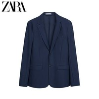 11日0点:ZARA   02753500401 男士西装外套