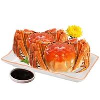 限地区:京觅 鲜活大闸蟹 公蟹2.6-3.0两 母蟹1.6-2.0两 6对12只
