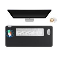 移动专享:richblue 悦利 无线充电鼠标垫 黑色 90*42cm