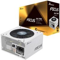 SEASONIC 海韵 FOCUS GX750 White白色限定版 电脑电源 金牌(90%)750W 全模组化