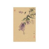 艺术品:孤品花卉植物动物国画《花鸟系列之7》汪玉砚 画芯 19x28cm