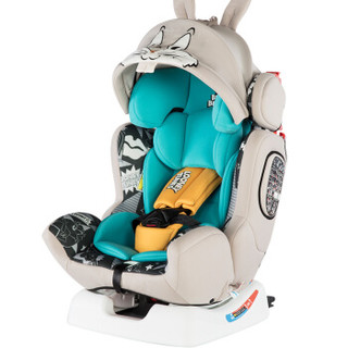 Ganen 感恩 LooneyTunes系列 兔八哥 儿童安全座椅 0-12岁