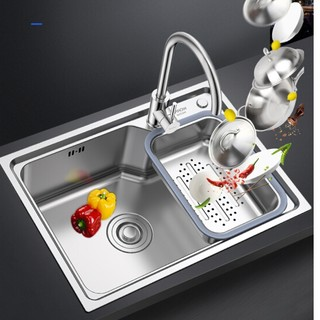 ARROW 箭牌卫浴 AEO4B10458 304不锈钢厨房水槽