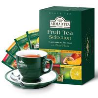 AHMAD 亚曼 红茶 调味袋泡茶 20包 *5件