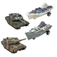 移动专享:bJJRC 军事模型回力车玩具 4件套