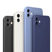 PISEN 品胜 iPhone12系列 液态硅胶手机壳 送钢化膜