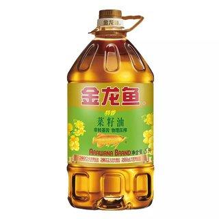 金龙鱼   特香菜籽油   5L *3件