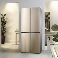 聚划算百亿补贴:TCL R405V1-U 405升 四门十字对开门冰箱