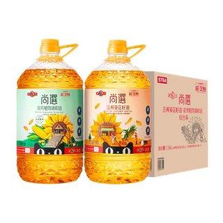 MIGHTY  多力  尚选葵花籽油系列组合  3.68L*2桶 *2件