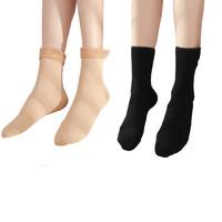 AunaRemt 安娜汇 加绒雪地袜 5双装 多色可选