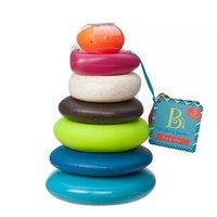 B.Toys 益智堆环叠叠乐 水漂石叠塔杯 *3件