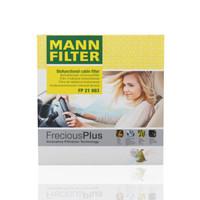 京东PLUS会员:MANN 曼牌 FP21003 空调滤清器 本田适用 *2件 +凑单品