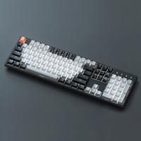 京东京造 C2 104键 机械键盘 白色背光 Gateron轴
