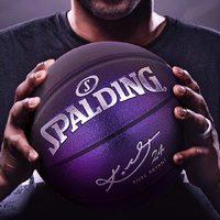 SPALDING 斯伯丁 科比限量版 7号篮球 *2件
