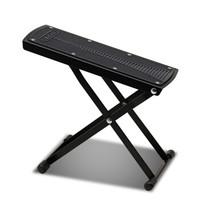 GLEAM 格利姆吉他脚蹬 古典吉他脚凳 木吉他踏脚板 可升降脚蹬 乐器通用 6档调节 GLEAM黑色脚凳