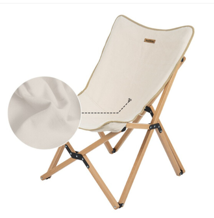 NatureHike NH19JJ008 加大号 户外实木折叠椅