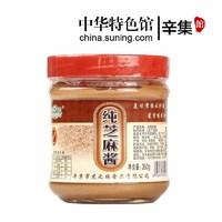 苏宁SUPER会员:Huzhiyuan 虎之缘 纯芝麻酱 350g *4件