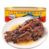 珠江桥 豆豉鲮鱼罐头 207g *10件