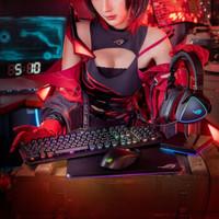ROG 玩家国度 游侠RX 机械键盘(光轴类红轴)
