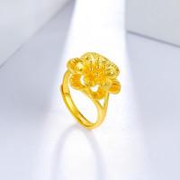 ZLF 周六福 AB012312 花型足金戒指 6.76g