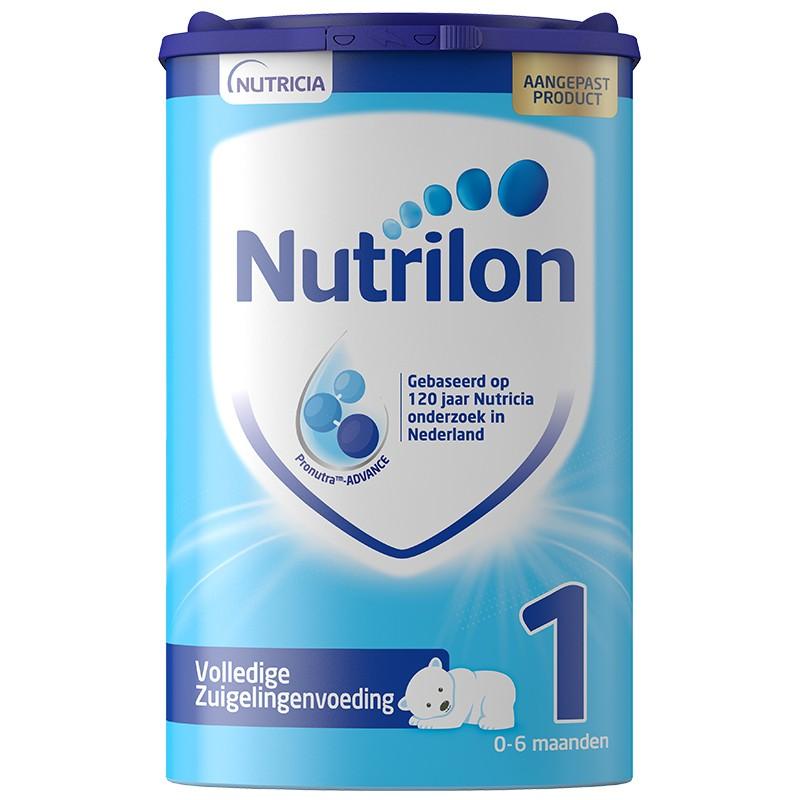 Nutrilon 诺优能 婴幼儿配方奶粉 易乐罐 1段 800g