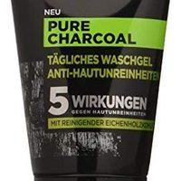 巴黎欧莱雅 男士专家 纯木炭洗面奶,针对性清洁男士皮肤(痘痘,黑头,皮肤油腻),1 x 100ml
