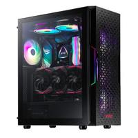 威刚(ADATA) XPG 入侵者烈日版 黑色 游戏机箱 显卡竖装/磁吸打孔面板/钢化玻璃侧透/ARGB光效
