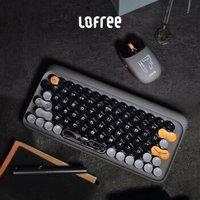 LOFREE 洛斐 EH112S 无线机械键盘 79键 茶轴 山东舰联名款