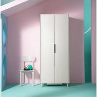 林氏木业  DT1D-E 北欧小户型两门衣柜