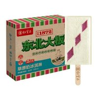 京东PLUS会员:东北大板 草原奶冰淇淋 72克*5支 *10件