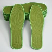移动专享:紫念花 防滑防臭鞋垫 军绿 10双装
