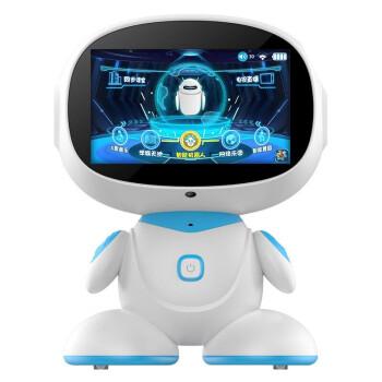 諾巴曼7英寸i70超清觸屏ai人工智能機器人學習機3-6-12歲語音對話教學早教機器人教育兒童玩具 7英寸智能機器人學習機i70 會跳舞走動的7英寸觸屏教學機器人