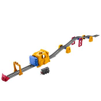 托马斯和朋友(THOMAS&FRIENDS)轨道大师系列之狄塞尔隧道冲刺合金套装 男孩玩具 送礼套装 GHK73