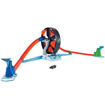 风火轮(HOT WHEELS)飞轮对战轨道套装 男孩儿童玩具 双人对战轨道 合金小车 GJM77