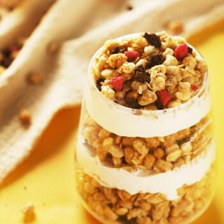 卡乐比Calbee 日本进口 水果即食麦片 零食冲饮谷物 原味700g+巧克力曲奇风味700g