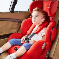 百亿补贴:gb 好孩子 汽车安全座椅 CS786-A006 9个月-12岁 热情红