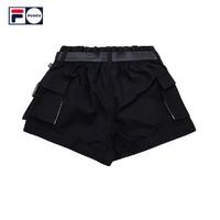 FILA 斐乐 FUSION T51W111810A 女式运动短裤
