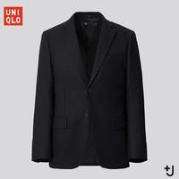 新品发售:UNIQLO 优衣库 +J 436074 男士纯羊毛西服