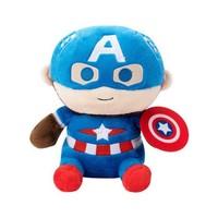 MINISO 名创优品 Marvel漫威系列 美国队长 坐姿公仔
