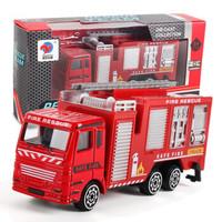 移动专享:OLOEY 合金小汽车 消防车
