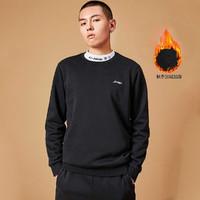 LI-NING 李宁 AWDQB17-1 男士运动圆领针织上衣