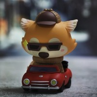 天猫U先:POPMART 泡泡玛特 Goobi 小狐狸暑假系列 盲盒 1个